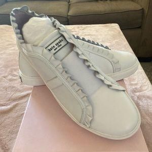 Kate Spade  white sneakers size 10